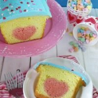 Valentines Day Heart Candy Cake