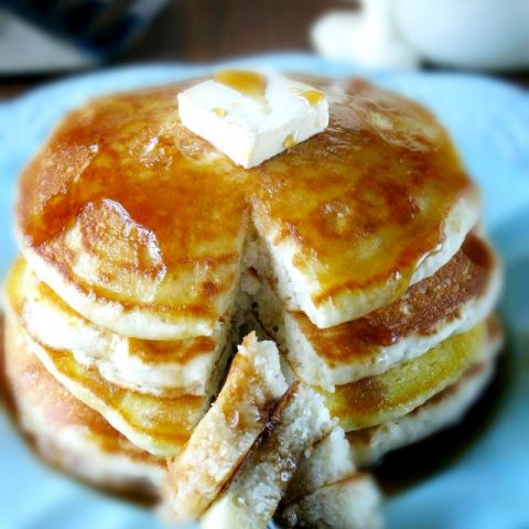 Grandmas Homemade Buttermilk Pancakes