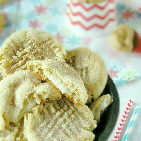 Soft Batch Peanut Butter Eggnog Cookies
