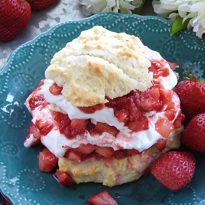 Strawberry Shortcake Homemade