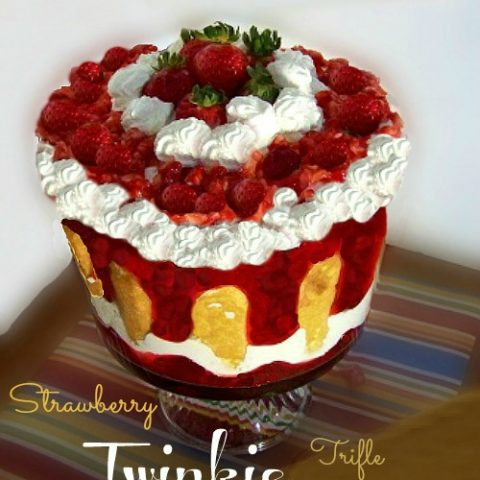 Strawberry Twinkie Truffle