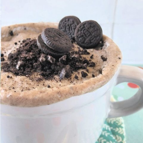 Oreo Mug Cake Recipe Eggless